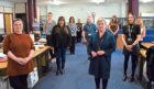 NHS Tayside's procurement team.