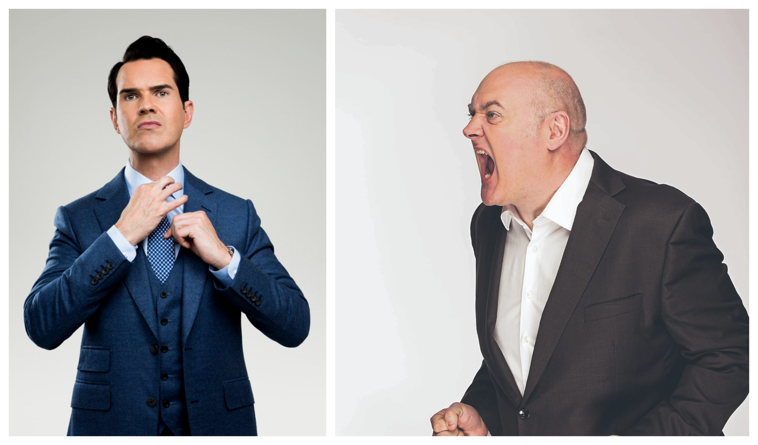 Jimmy Carr and Dara  Ó Briain have performed at the Caird Hall.