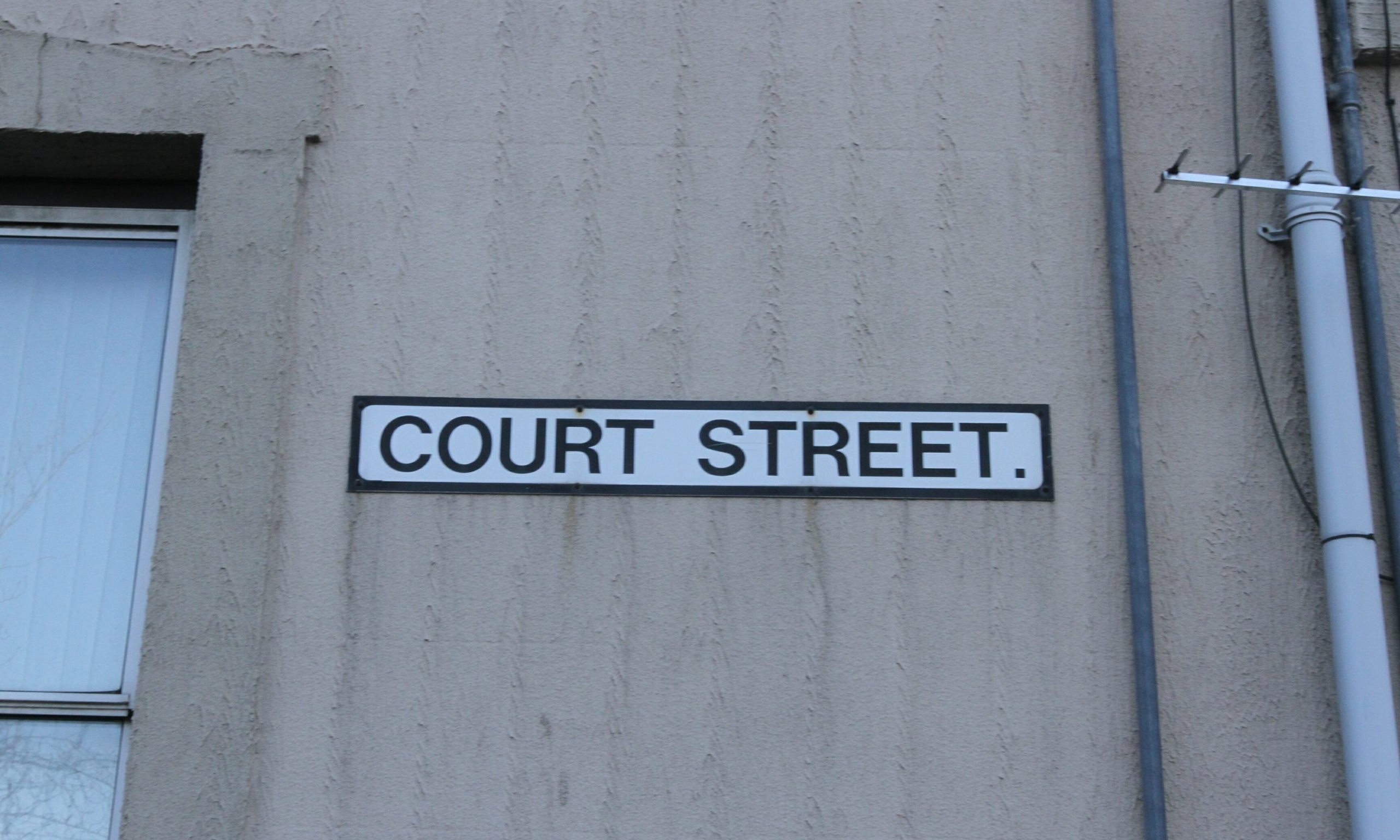 Police were called to Court Street after the sudden death of a man in his late 40s.
