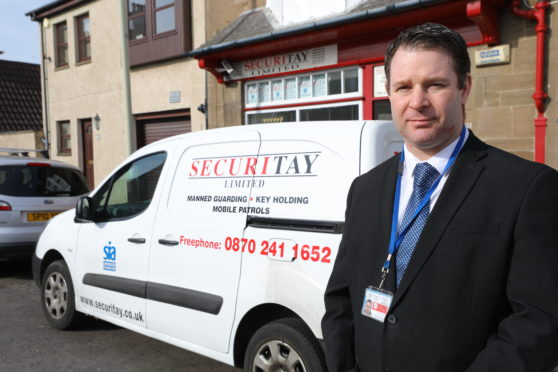 Michael Smith - Operations Manager at Securitay (Picture: Dougie Nicolson / DCT Media.)