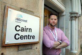 "Hillcrest Futures has seen an upsurge in steroid users looking for a ""quick fix"" as they try and attain the perfect body. Pictured is Danny Kelly, harm reduction service manager. (Picture: DCT Media/ Gareth Jennings)"