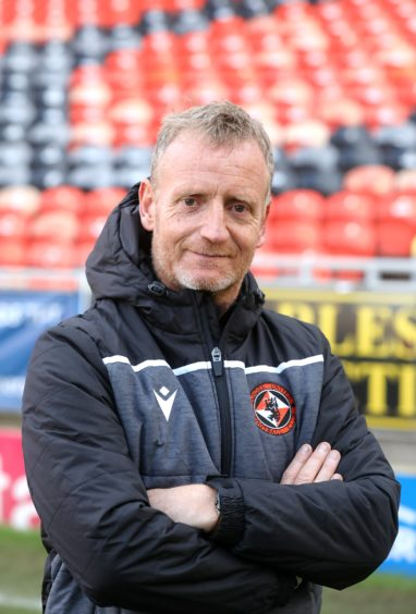Dave Bowman is now player transition coach at Tannadice