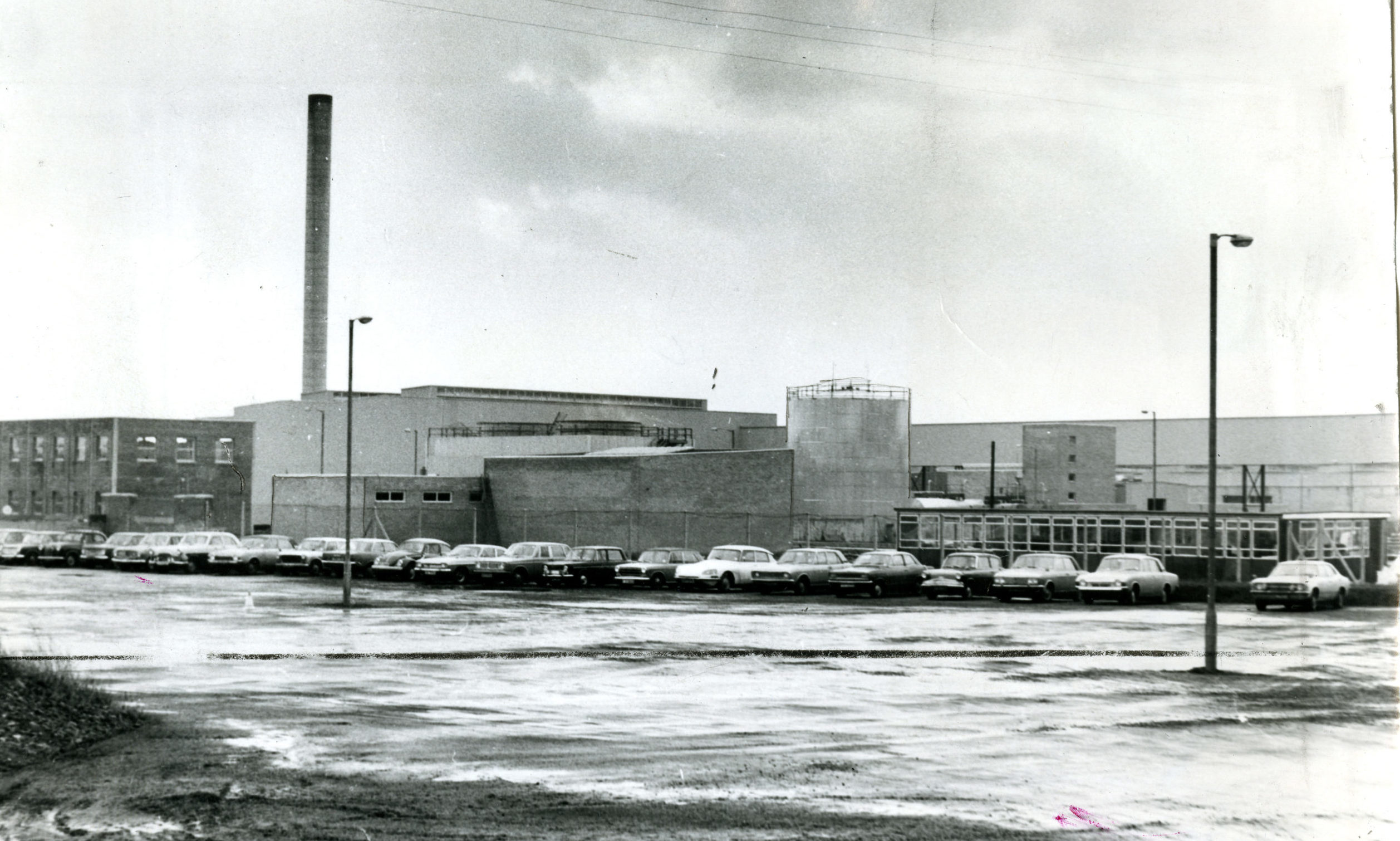 The Michelin Factory in Dec 1972.