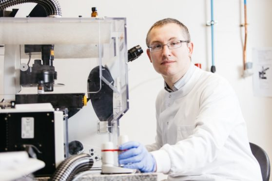 Professor James Chalmers is leading the drug trial.