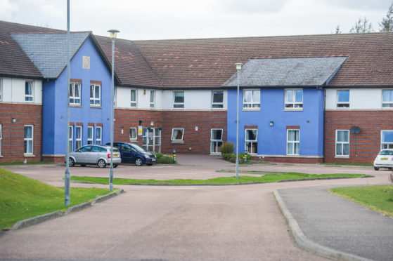 Pitkerro Road care home in Dundee, where 11 people have died.
