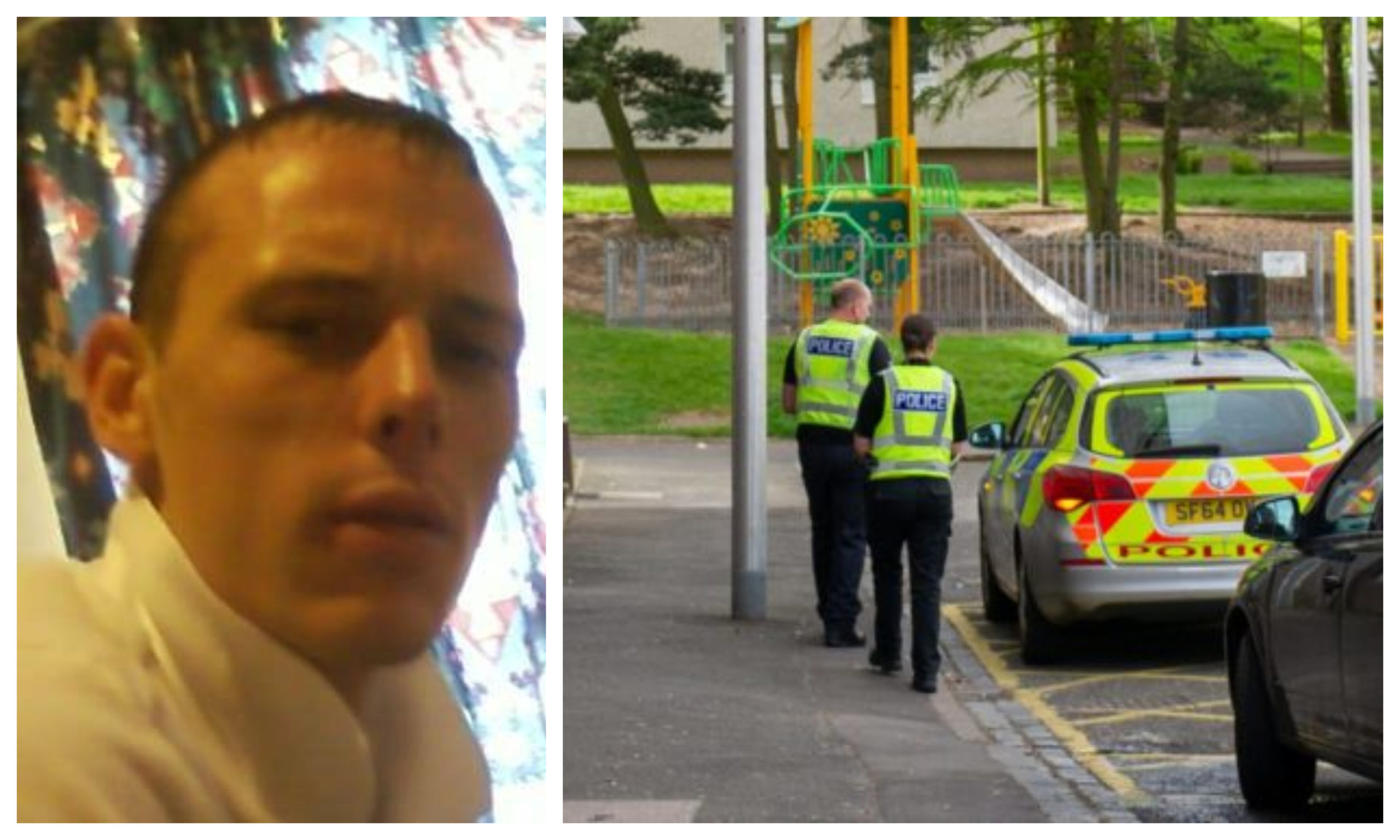 Michael Inglis was found dead on Monday. Police were seen at the incident in Lochee for much of the day.