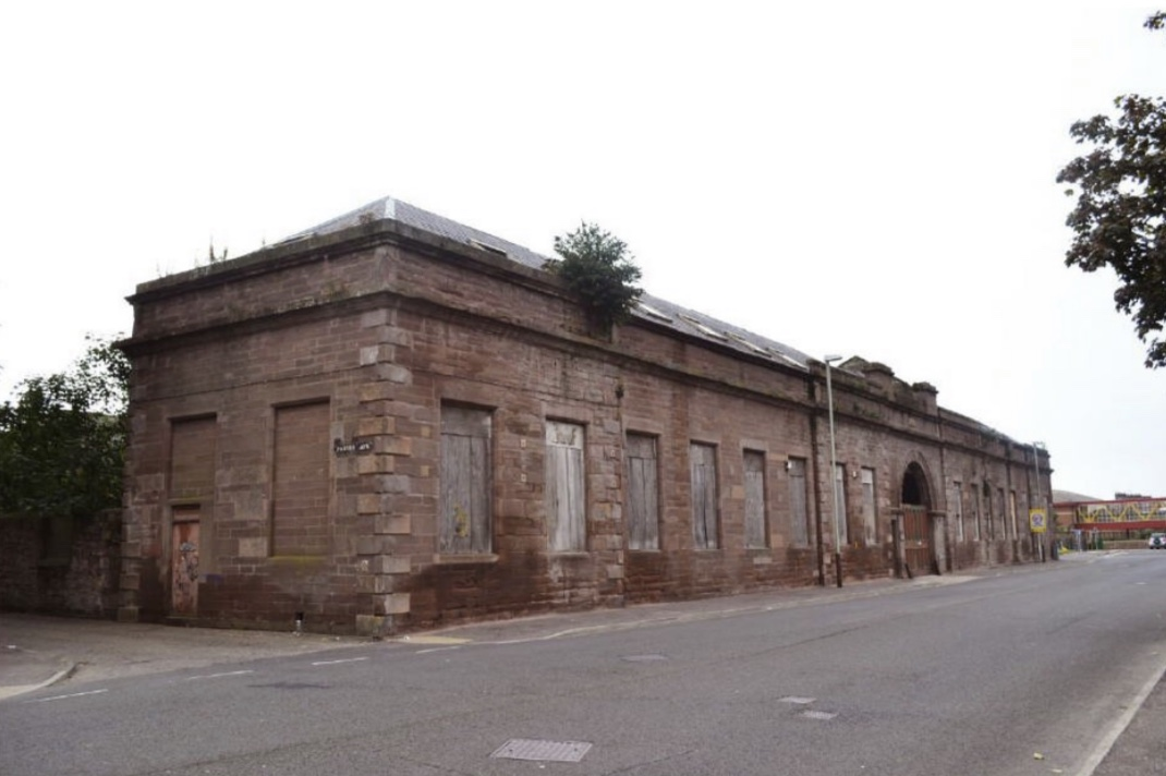 The former Marine Avenue Mill at the Chapel Works.