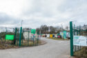 The Baldovie Recycling Centre.