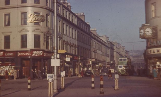 G H Bell's image shows Reform Street from the City Square in 1957.