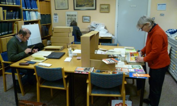 Staff at Perth and Kinross Archive are asking people to help them document life during the coronavirus lockdown.