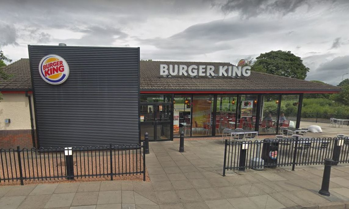The Burger King restaurant at the Kingsway West Retail Park in Dundee. (Stock image).
