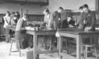 University of Dundee physics lab in the 1930s.