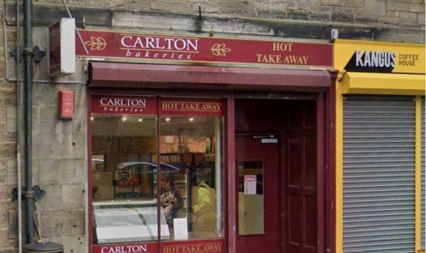 The Carlton Bakery in Victoria Road, Kirkcaldy (Stock image).
