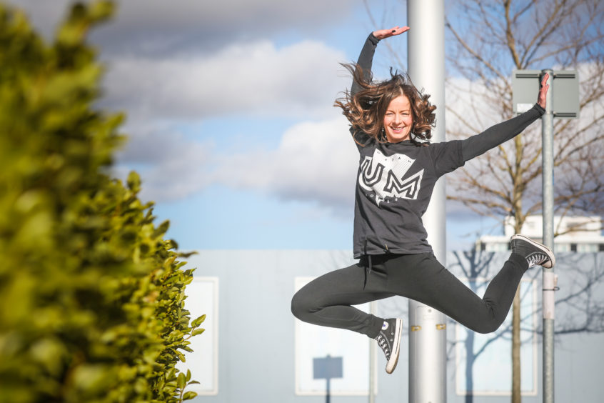 Alexandra Hare is dance manager for Leisure and Culture Dundee.