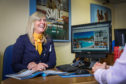Jan Brown has been working at Hays Travel for 34 years.