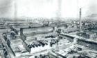 Camperdown Works in 1887.
