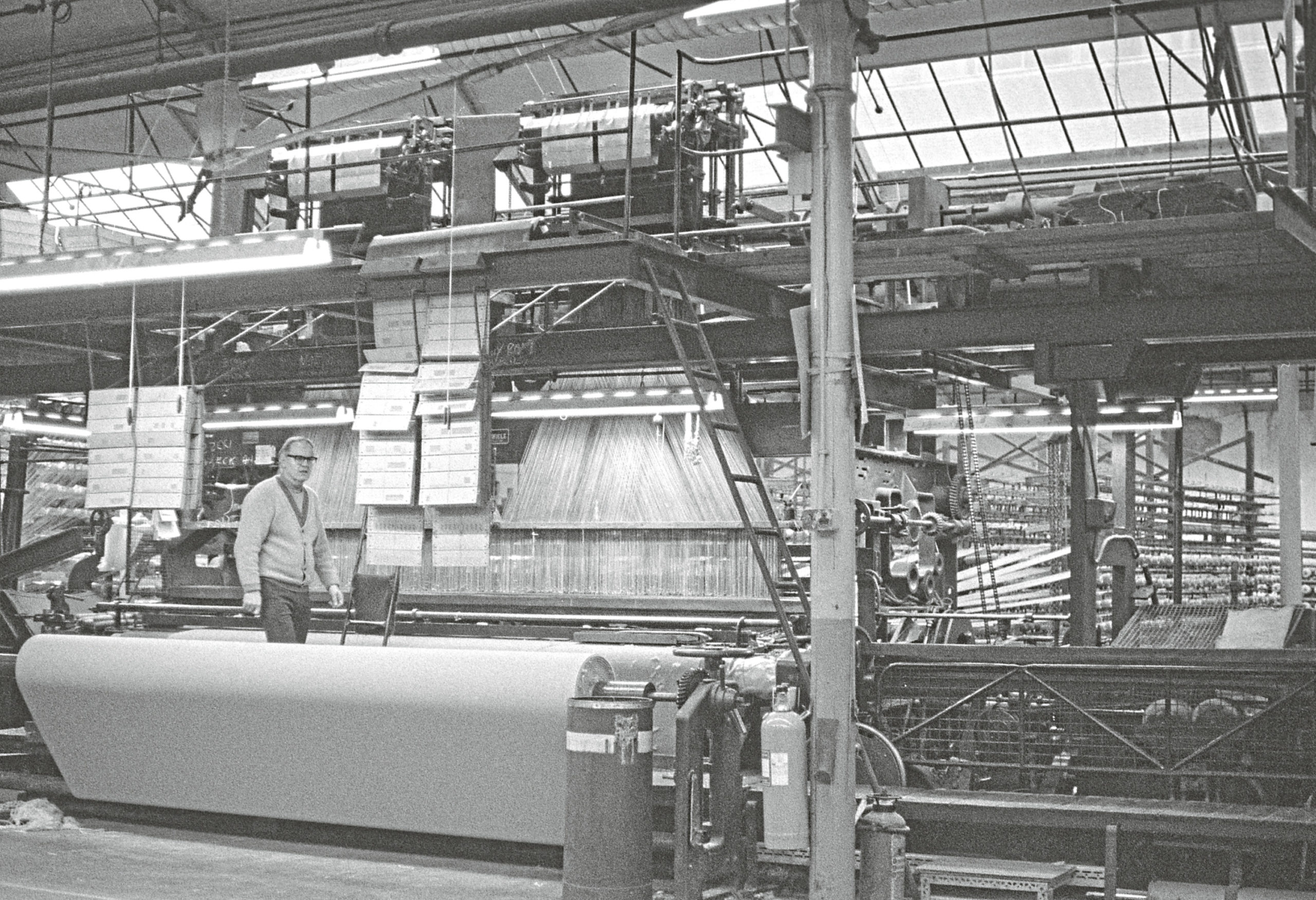 This identified picture is of Seafield Works in Taylor's Lane in 1986.
