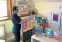 Balgillo Nursery staff giving a virtual tour in one of their nurseries.
