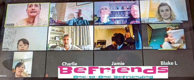 Dundee befriending charity BeFriends have been holding virtual nights for their group as usual 1-1 sessions have been cancelled.