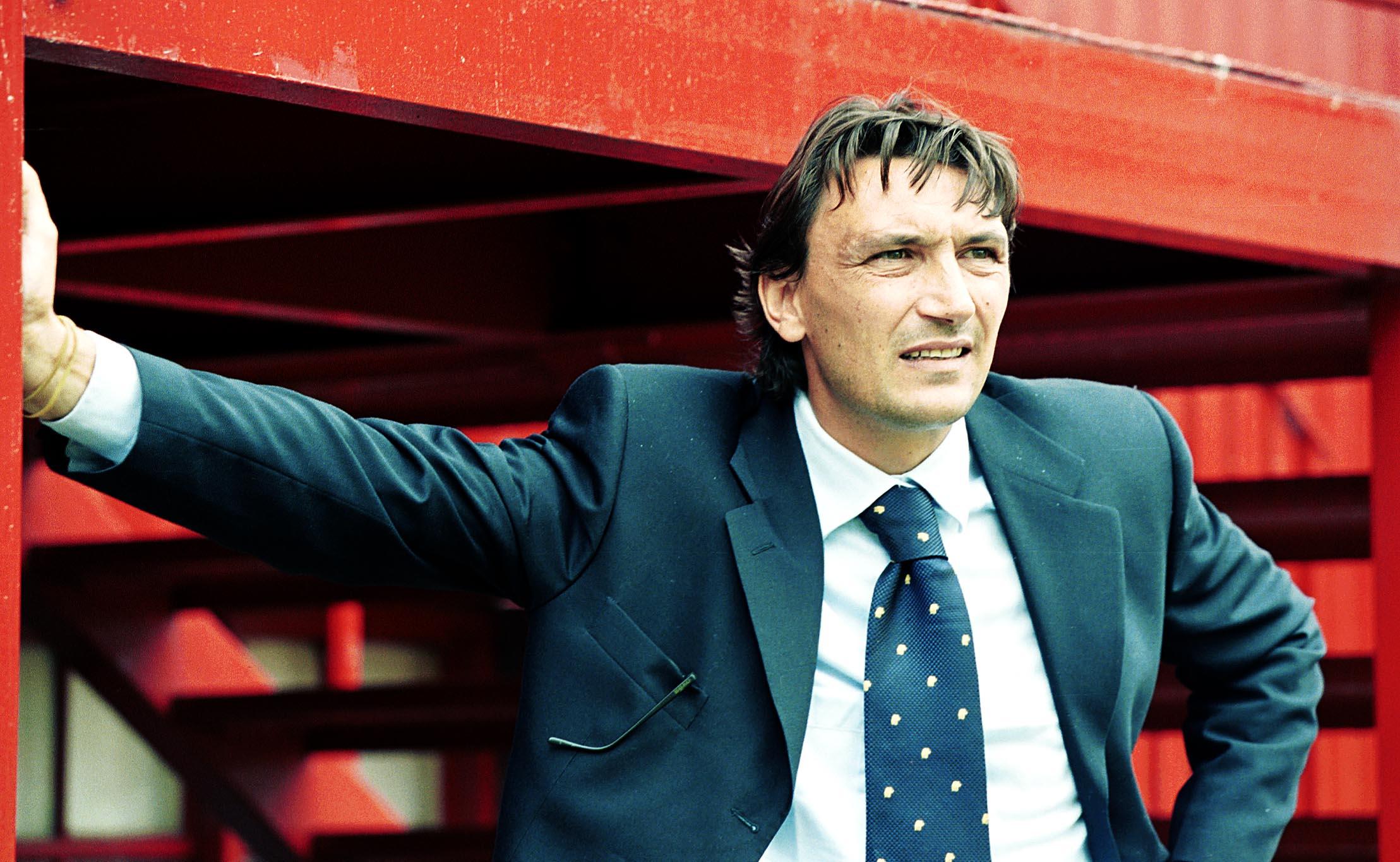 Former Dundee assistant boss, Dario Bonetti.