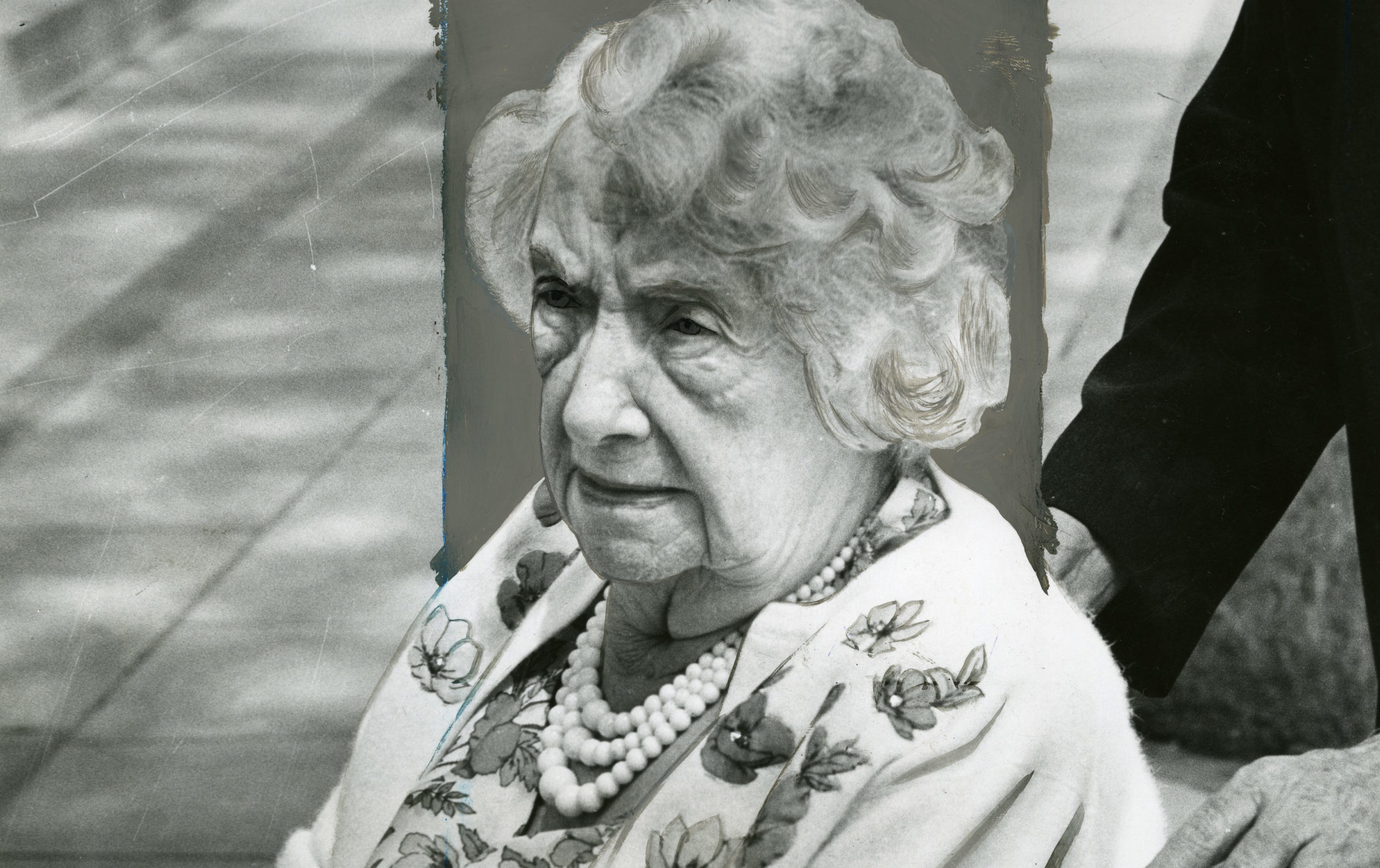 Anna is pictured in 1966. Copyright of Detroit News.