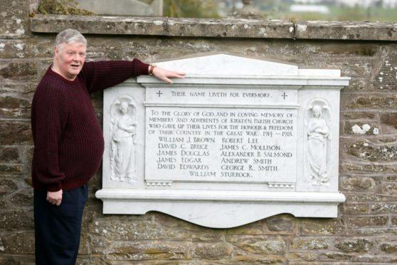 Patrick Anderson at Kirkden Parish in Letham.