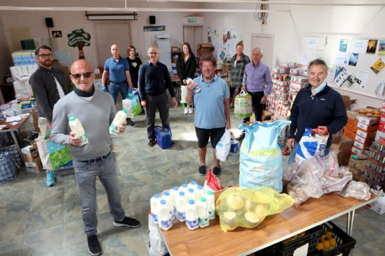 The Broughty Ferry foodbank has thanked the community for its support.  (Picture: Gareth Jennings/ DCT Media)