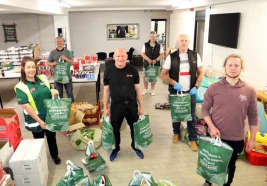 Fairfield Social Club has set up a food larder for the needy. (Picture: Gareth Jennings/ DCT Media)
