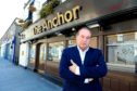 Jeff Stewart of the Anchor pub in Broughty Ferry.