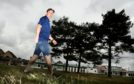 Keir Malloch has made huge strides in his walking challenge.  (Picture: Gareth Jennings/ DCT Media)