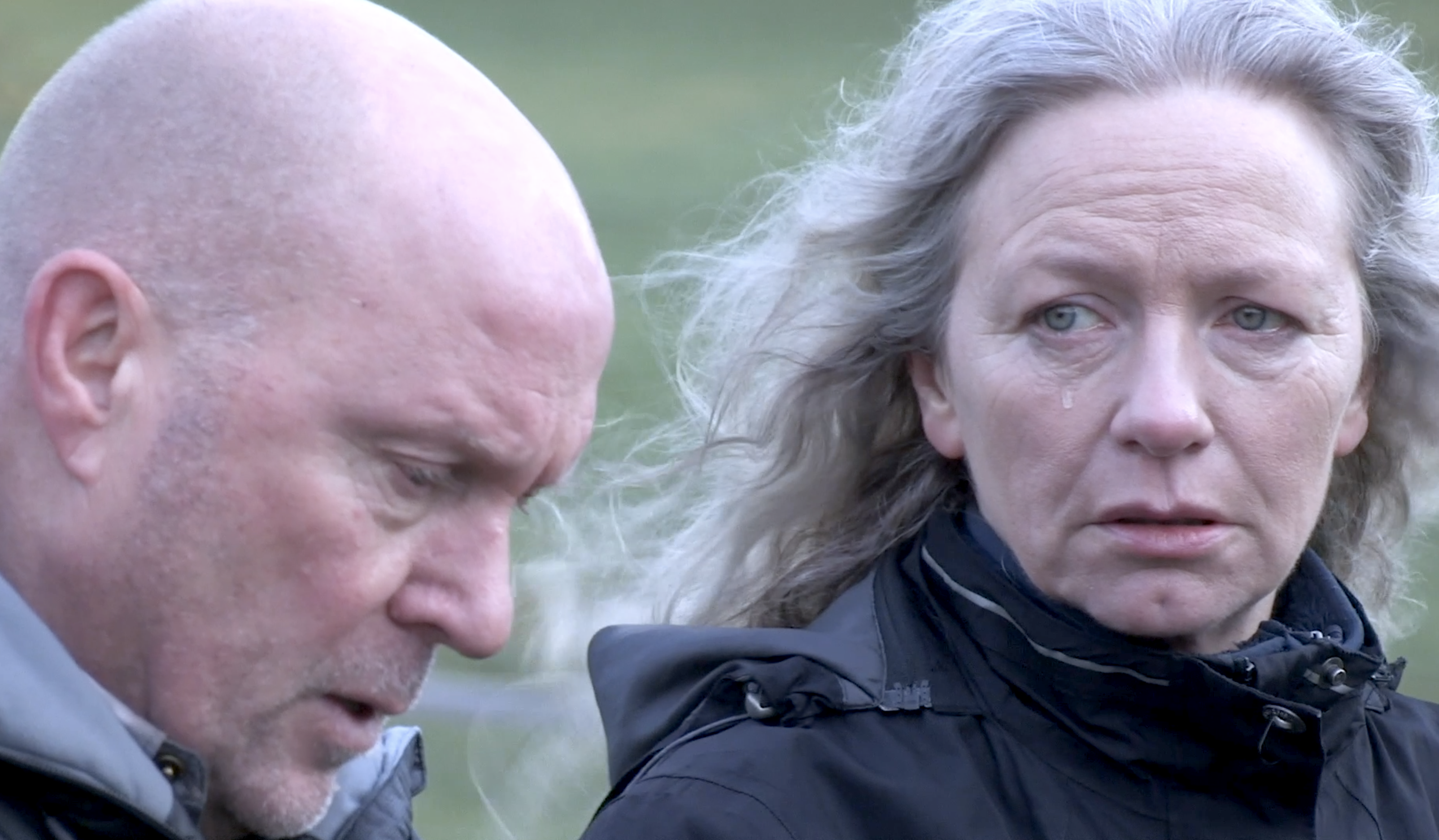 Left Behind, starring Dr Who actress Seylan Baxter and The Crews actor Joe Cassidy, tells the story of a mother and father as they struggle to deal with the loss of their son.