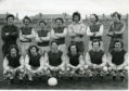 Osborne FC team photo.  Back (L to R) - Mathers, Love, MacKay, Brown, Nicoll, Milne, McMillan. Front - Reilly, Ritchie, Jamieson, Sleway, Murphy, McKenzie.  16/5/1973.