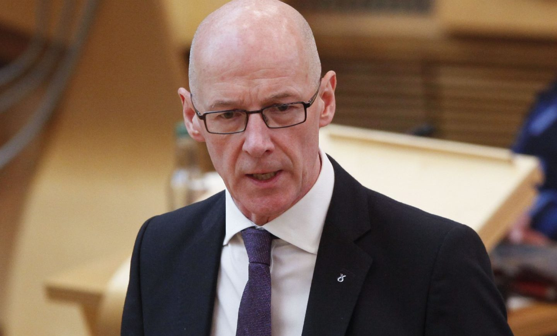 Education Secretary John Swinney outlined the new approach in Holyrood.