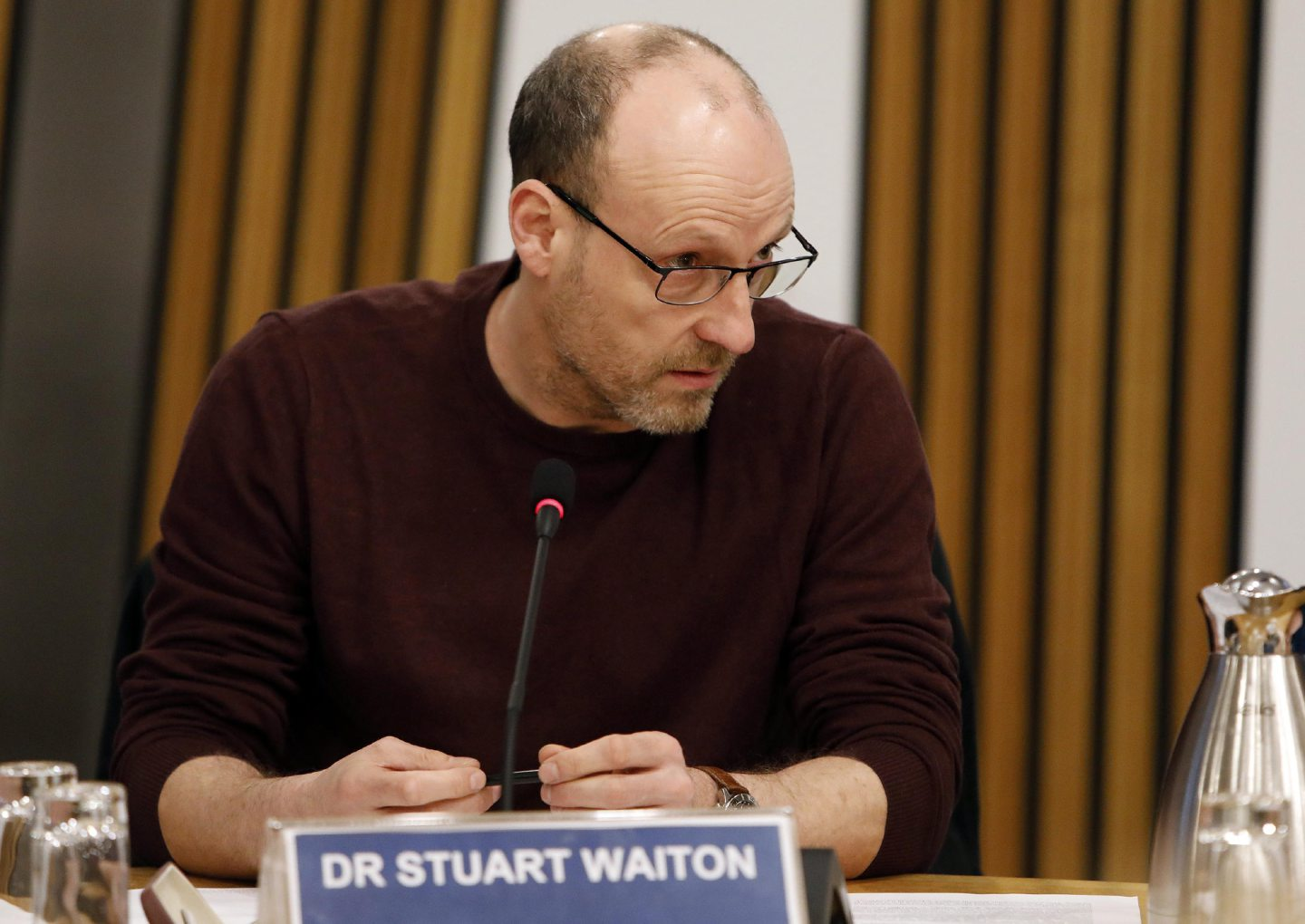 Dr Stuart Waiton has criticised the government's 'stay at home' mantra