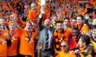 Houston and United squad celebrate Scottish Cup triumph
