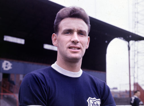 Bobby Seith, Dundee FC, dated 1962.