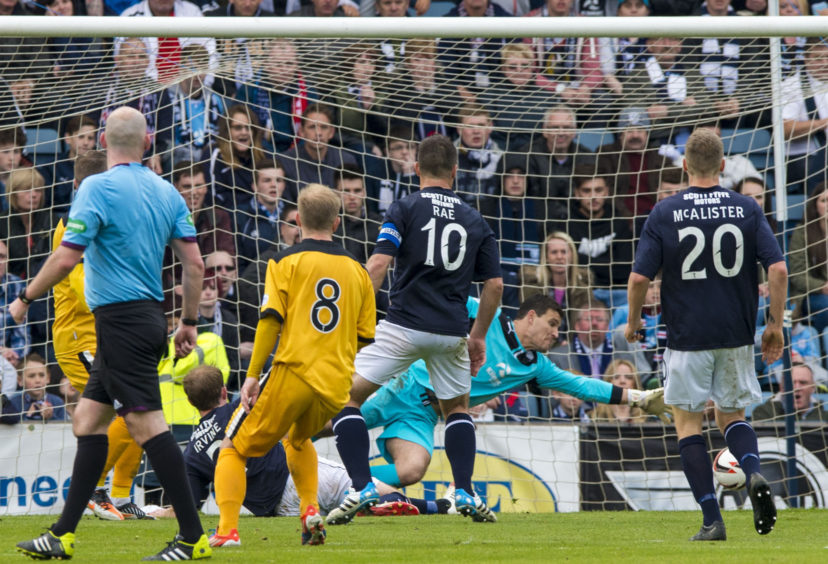 Letheren saves from Bryan Prunty