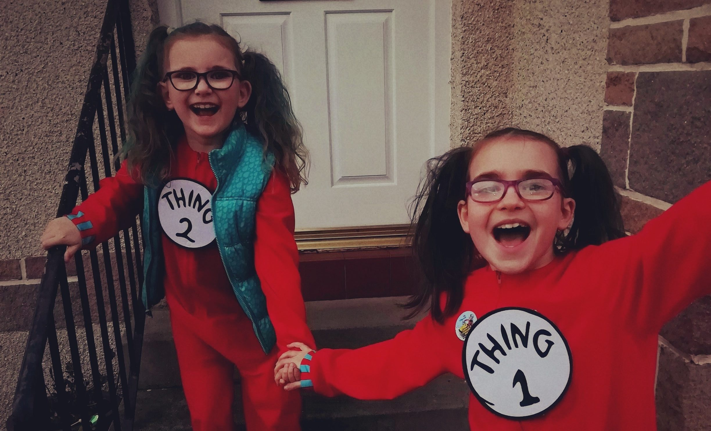 Suzanna (10) and Bethany (8) Wylie have been taking part in the talent show.