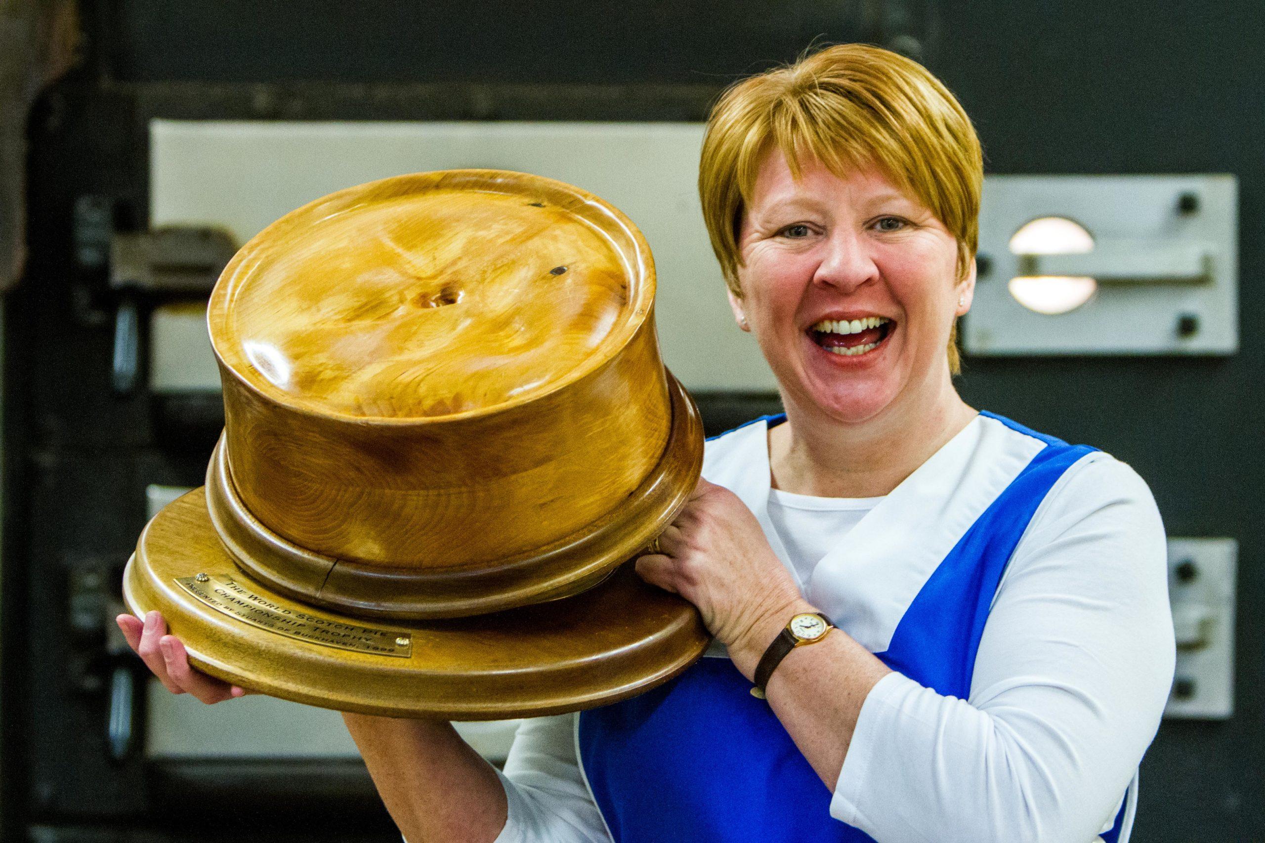 Linda Hill of Murrays Bakers.