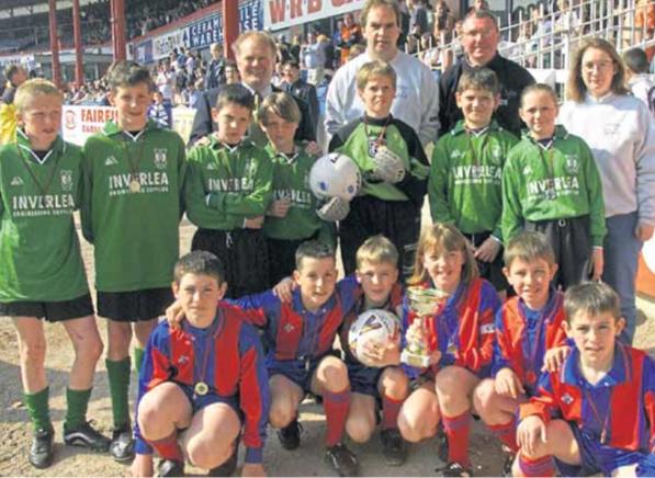 Dundee kids ahead of schoolboy showdown