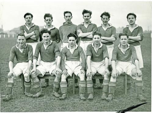 Elmwood JFC in 1948/49.