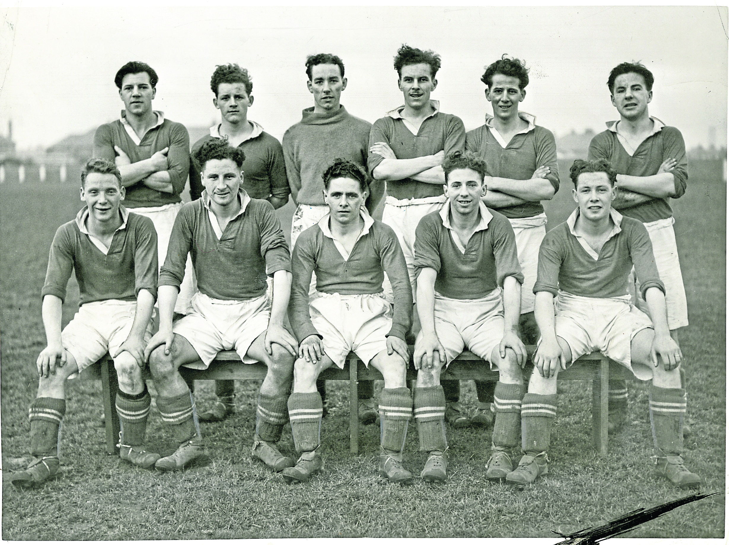 Elmwood JFC in 1948/49.