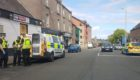 Police were called to an incident near the Bowbridge Bar in the Hilltown