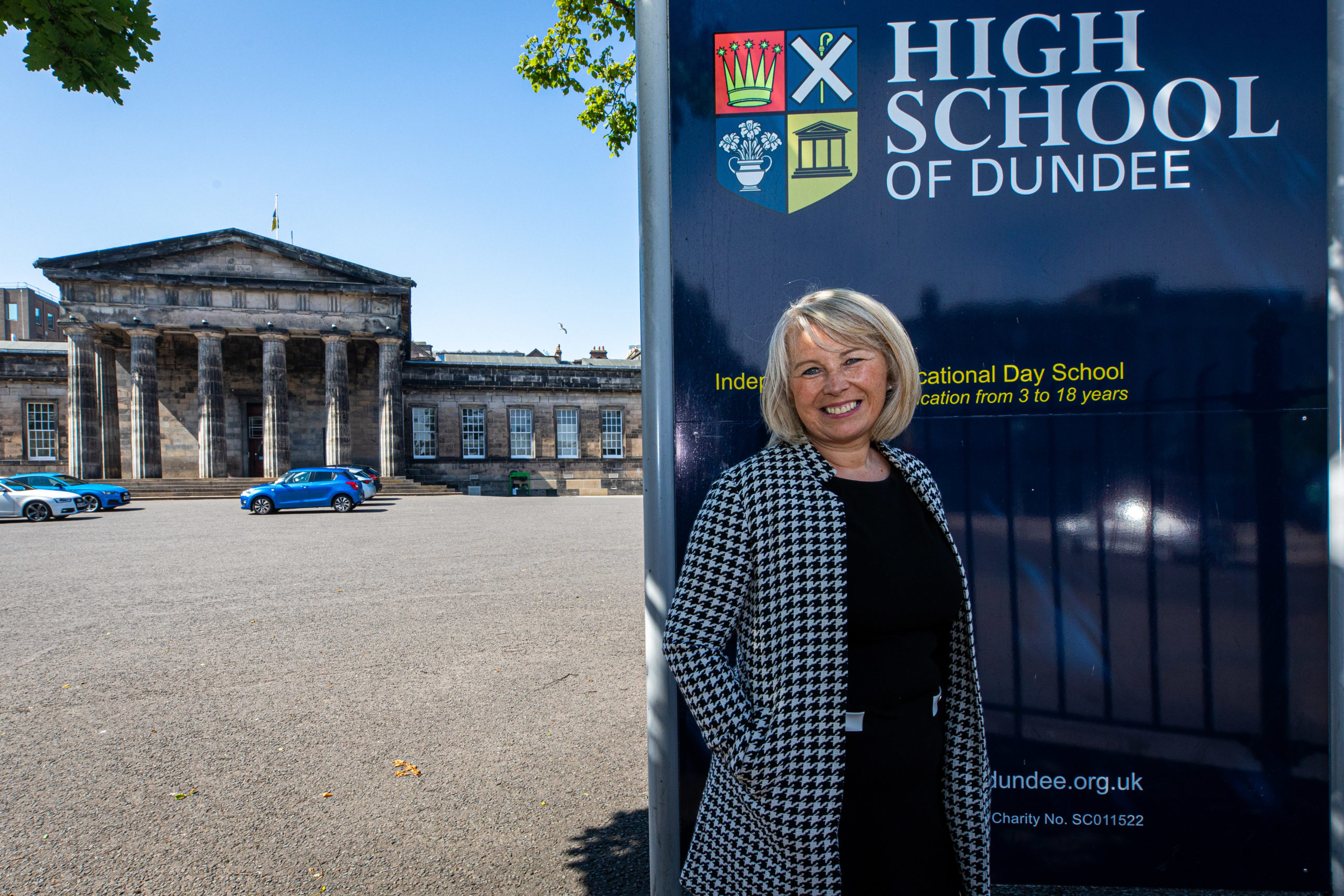 High School of Dundee rector Lise Hudson.