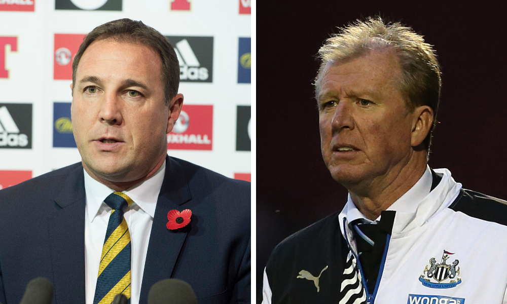 Malky Mackay and Steve McClaren are in mix for Dundee United hot seat