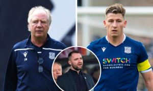 Dundee boss James McPake reacts to the departures of Jimmy Nicholl and Josh Meekings