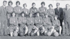 An old photo of St Columba BC team