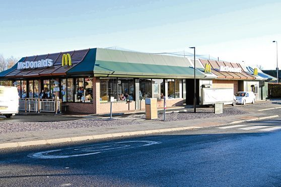 McDonald's at Camperdown Leisure Park.