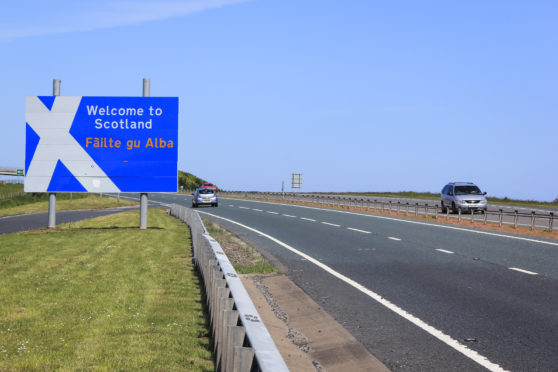"""The first minister said """"all options"""" would be explored to try to stop a Covid-19 resurgence, as she failed to rule out such measures for those crossing the Scotland/England border."""