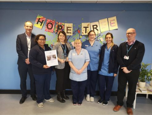 The team at the intensive psychiatric care unit have been praised.